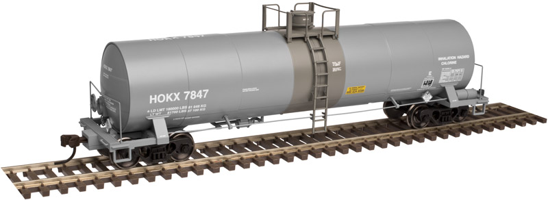 Atlas item # 6230-3 17,000 gallon tank car//Undecorated
