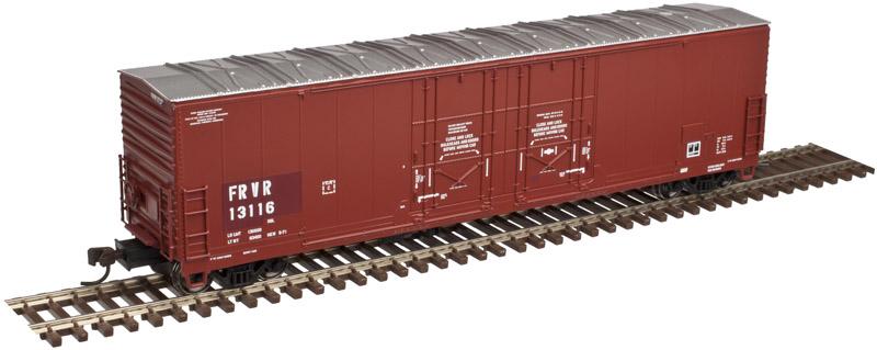 ATLAS 20 005 422 WISCONSIN /& SOUTHERN 53/' Evans DBL Plug Door Box Car HO Scale