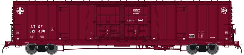 """Atlas 20004952 HO Santa Fe Berwind /""""C/"""" Repaint BX-166 Box Car #621410"""