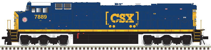 Road #916 DCC Ready ATLAS MASTER HO 10001240 BNSF Dash 8-40CW H2